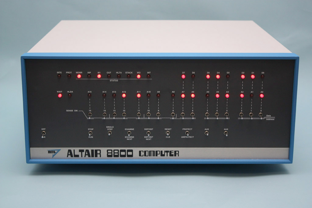 an overview of the mits altair computer company The mits altair 8800, the third commercially available personal computer released in december 1974.